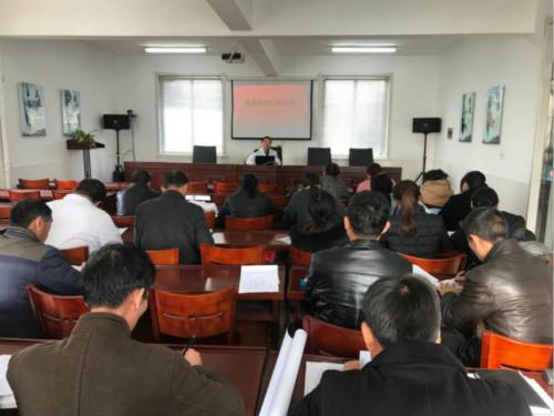 滨海县天场镇卫生院 召开流感防治专题培训会